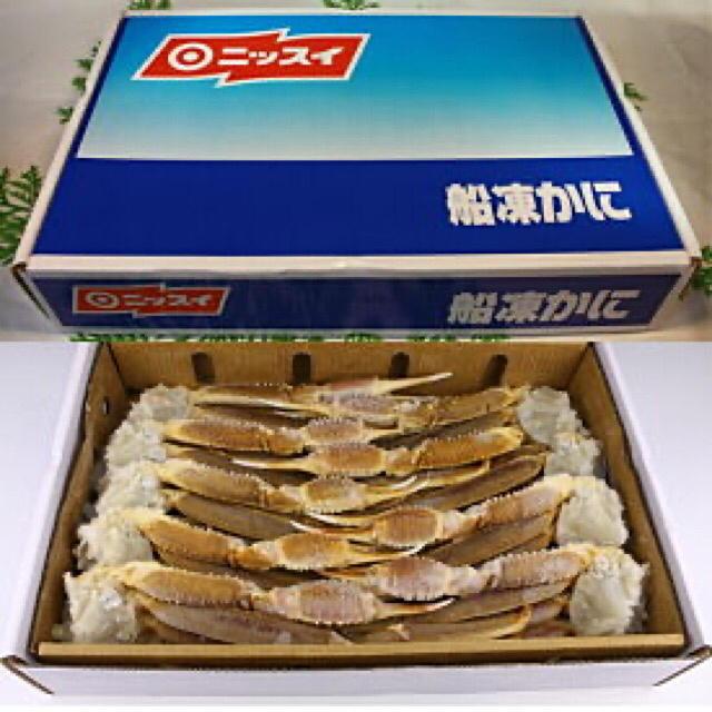 ズワイガニ 3L  冷凍生ずわい蟹  新品未開封 食品/飲料/酒の食品(魚介)の商品写真