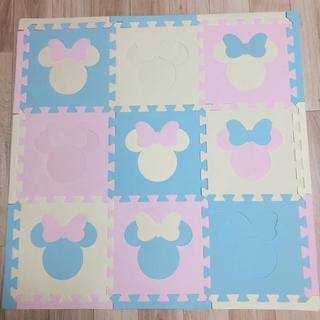 ディズニー(Disney)のプレミアム ジョイントマット 24枚 パステル ミニーマウス(フロアマット)