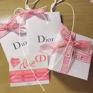 Dior - ディオール Dior ギフトボックス ステッカー