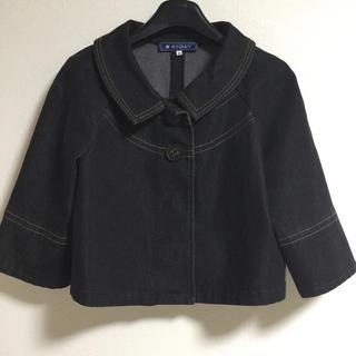 M'S GRACY - エムズグレイシー ジャケット デニム 40 日本製 グレー 伸縮 超美品