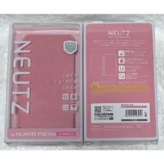 ELECOM - HUAWEI P30 lite ソフトレザー 薄型ピンク 957