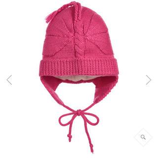 コドモビームス(こどもビームス)の即購入可  新品  Deux Par Deux  バタフライパターンニット帽(帽子)