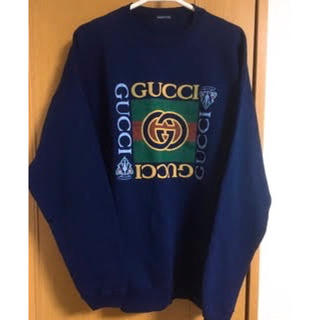 Gucci - グッチ GUCCI プリントスウェット トレーナー