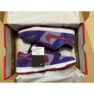 NIKE - NIKE SB DUNK LOW Plum 28.0cm us10
