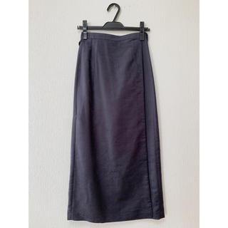 UNITED ARROWS - UNITED ARROWS GREEN LABEL ラップロングスカート
