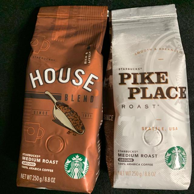 Starbucks Coffee(スターバックスコーヒー)のスターバックス コーヒー2種 食品/飲料/酒の飲料(コーヒー)の商品写真