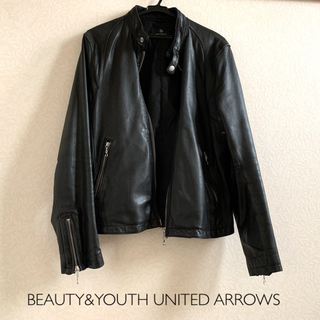 BEAUTY&YOUTH UNITED ARROWS - BEAUTY&YOUTH UNITED ARROWS レザージャケット L