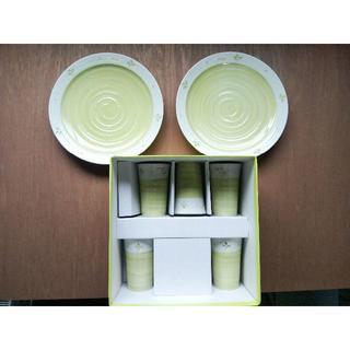 マリクレール(Marie Claire)の【値下げ】marie claire マリクレール お皿 カップ セット(食器)