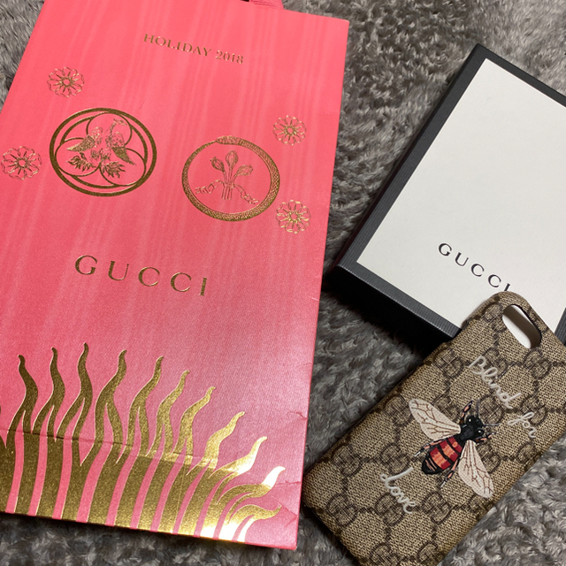 Gucci - 【GUCCI】iPhone7/8ケースの通販