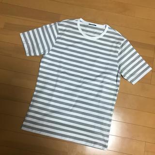 TOMORROWLAND - メンズMサイズ コットン100% ボーダーTシャツ