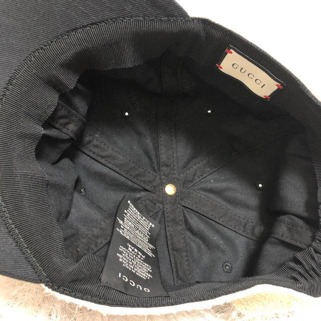 Gucci(グッチ)のGUCCIキャップ レディースの帽子(キャップ)の商品写真