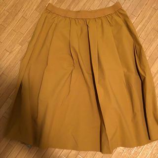 ユニクロ(UNIQLO)のドライストレッチタックスカート(ひざ丈スカート)