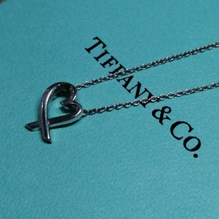 Tiffany & Co. - ティファニー ラビングハートネックレス