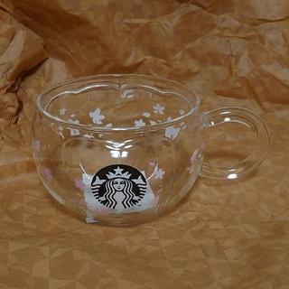 Starbucks Coffee - スタバ さくら 耐熱グラスマグ スターバックス サクラ