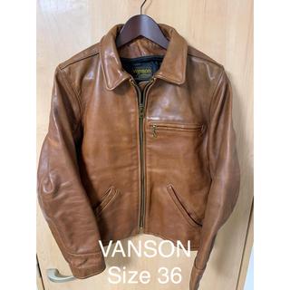 バンソン(VANSON)のVANSON レザー ライダース  ジャケット Schott(レザージャケット)