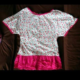 星柄ピンクTシャツMサイズ☆(Tシャツ(半袖/袖なし))