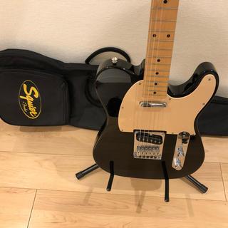 フェンダー(Fender)の【Squire by Fender】Telecaster テレキャスター  黒(エレキギター)