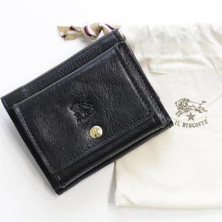 イルビゾンテ(IL BISONTE)の新品 イルビゾンテ ミニ財布 コンパクト 三つ折り財布 折財布 ミニウォレット(折り財布)