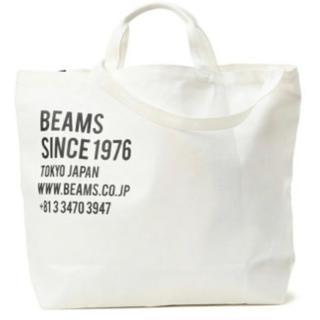 BEAMS - BEAMS  Web限定  2WAY キャンバス トートバッグ