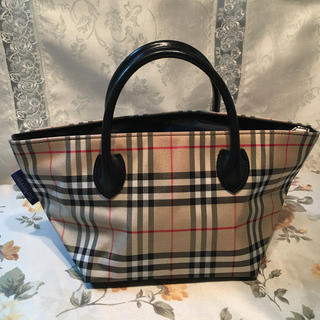 BURBERRY BLUE LABEL - 美品 BURBERRY BLUE LABELミニトートバッグ