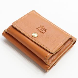 イルビゾンテ(IL BISONTE)の新品 イルビゾンテ ミニ財布 三つ折り財布 ミニ 折財布 ヤキヌメ ブラウン(折り財布)