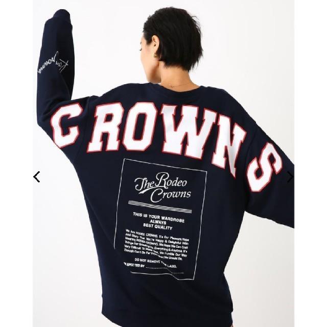 RODEO CROWNS WIDE BOWL(ロデオクラウンズワイドボウル)の新品未使用 ネイビー レディースのワンピース(その他)の商品写真