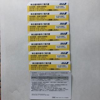 ANA(全日本空輸) - ANA株主優待券8枚セット+ANAグループ優待券