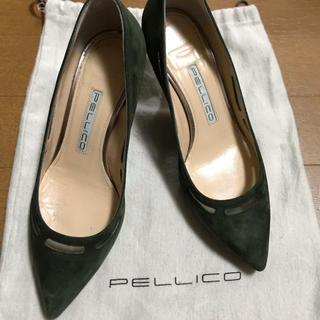 PELLICO - 人気 美品 ペリーコ  スウェード パンプス ポインテッド