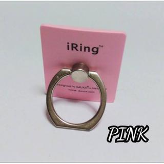 新品未使用☆ バンカーリング  スマホリング  ピンク