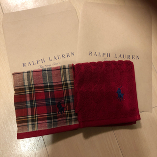 Ralph Lauren - ラルフローレン  タオルハンカチ