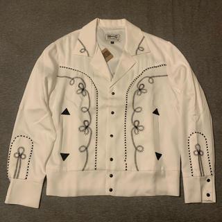 ワコマリア(WACKO MARIA)の新品 H BAR C Ranchwear ウエスタン ジャケット M ホワイト(その他)
