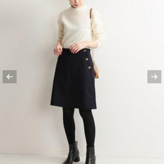 IENA - 完売 IENA ボタンミニスカート 16500円のお品