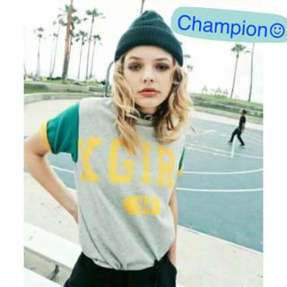 X-girl - チャンピオン  コラボTシャツ