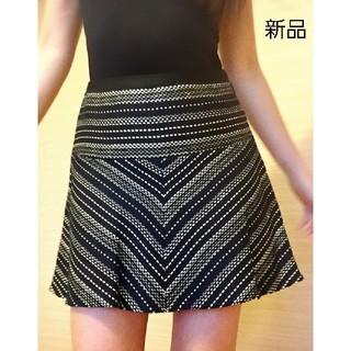 ビーシービージーマックスアズリア(BCBGMAXAZRIA)の新品 BCBGスカート フリーサイズ (ミニスカート)