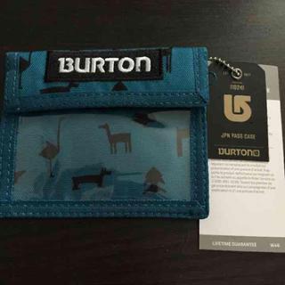 バートン(BURTON)のスノボ パスケース バートン 新品未使用(スケートボード)