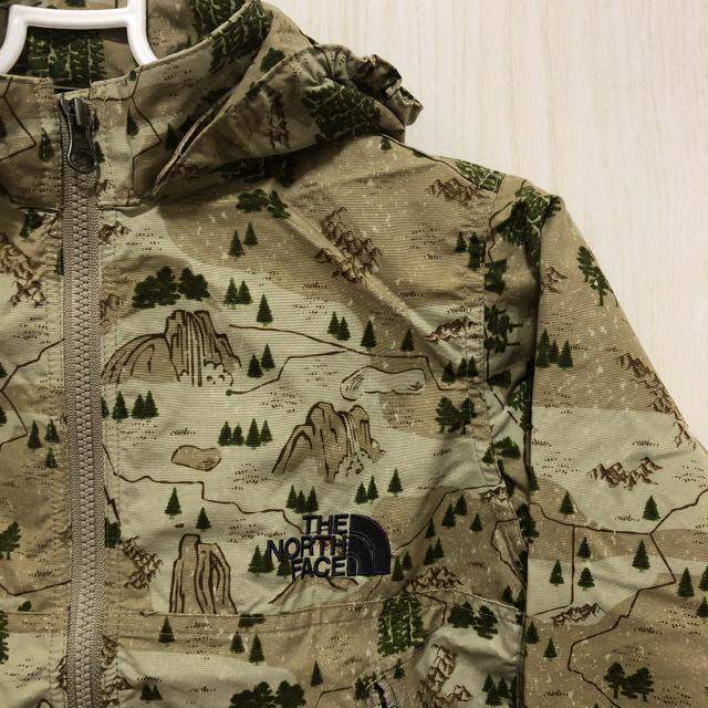 THE NORTH FACE(ザノースフェイス)のノースフェイス ノベルティコンパクトジャケット 110cm キッズ/ベビー/マタニティのキッズ服男の子用(90cm~)(ジャケット/上着)の商品写真