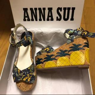 ANNA SUI - 【ANNA SUI】サンダル