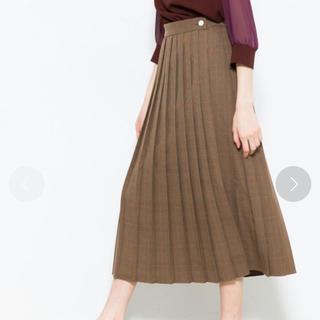 STUDIOUS - チェック柄スカート