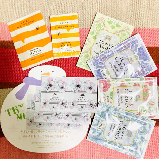 IGNIS(イグニス)の☆ イグニスガーデン ボディソープ+ハンドクリーム ☆ コスメ/美容のボディケア(ハンドクリーム)の商品写真
