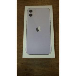 iPhone - iPhone 11 パープル  64 GB simフリー 新品未使用