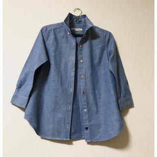 green label relaxing - 【美品】グリーンレーベルリラクシング  ボタンデザインシャツ