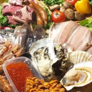 北海道の食材(魚介)