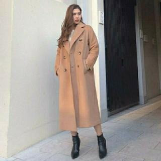 rienda - Loose Tailor WOOL CT  ルーズテイラーウールコート