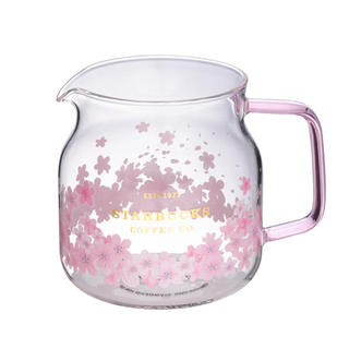 Starbucks Coffee - ガラスポット 桜 ケトル ティーセット 台湾スターバックス ガラスマグカップ