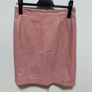 Pinky&Dianne - pinky&dianne レザースカート ミニスカート