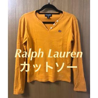 ラルフローレン(Ralph Lauren)のRalph Lauren ラルフローレン カットソー ベージュ トップス M (カットソー(長袖/七分))