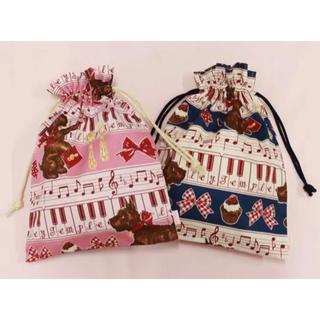 Shirley Temple - 新品 シャーリーテンプル Valentine's Dayオリジナルプリントの巾着