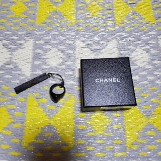 シャネル(CHANEL)の美品☆CHANEL シャネル リング お洒落ブラック/ゴールド☆(リング(指輪))