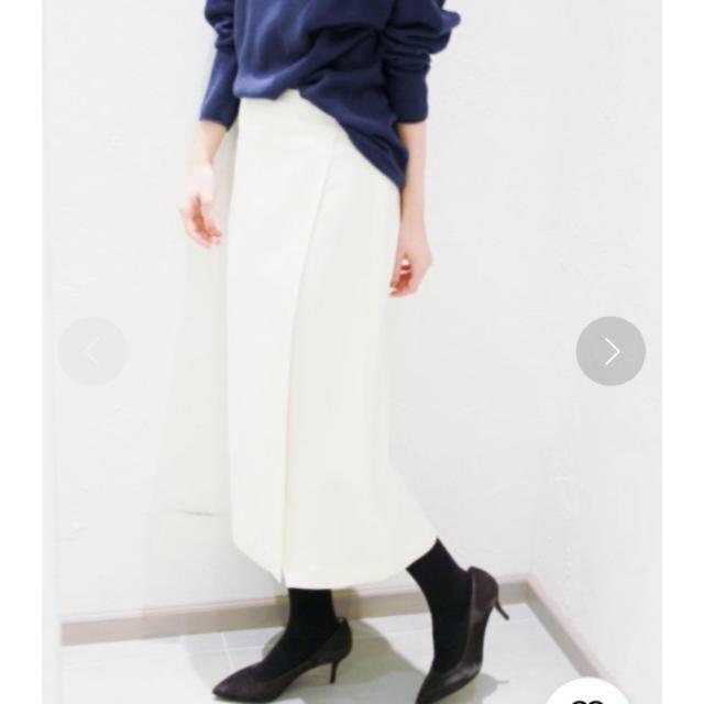 Plage(プラージュ)のPlage  ラップミディスカート レディースのスカート(ひざ丈スカート)の商品写真