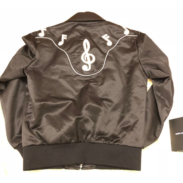 Saint Laurent(サンローラン)のSaint Laurent Paris ミュージックジャケット 新品未使用 レディースのジャケット/アウター(ブルゾン)の商品写真